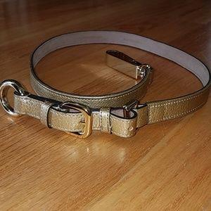 Ann Taylor Gold Hardware Belt - New